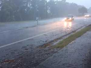 Rain storm hits Goonellabah