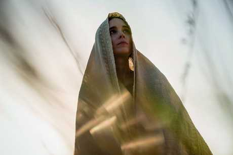 Rooney Mara in a scene from the movie Mary Magdalene.