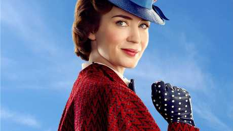 Emily Blunt will star as Mary Poppins in the movie Mary Poppins Returns.