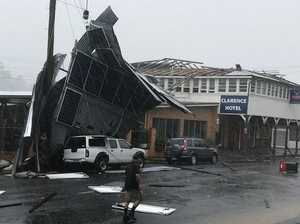 VIDEO: 'Mini tornado' rips roof off pub, causes flooding