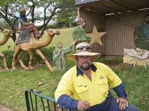 Nativity donkey stolen