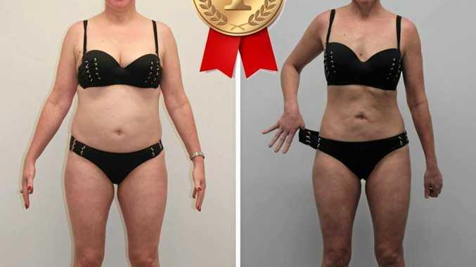 DEDICATION: Winner Sandra Dixon's transformation.