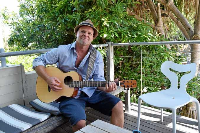 Noosa musician Jeff Leonard.