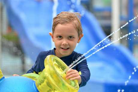 The new aquatic centre has been a place for fun.