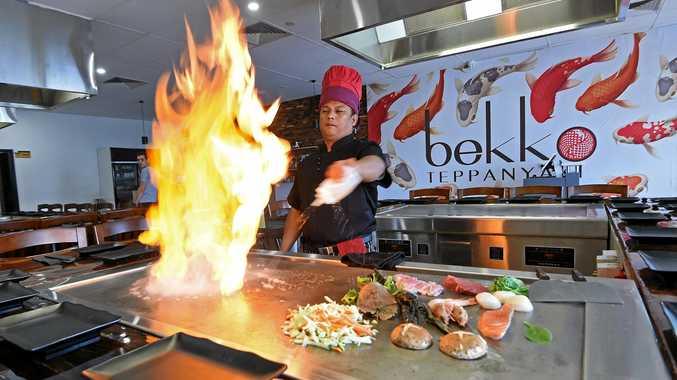New specialist Japanese restaurant opens in Buddina, Bekko Teppanyaki.