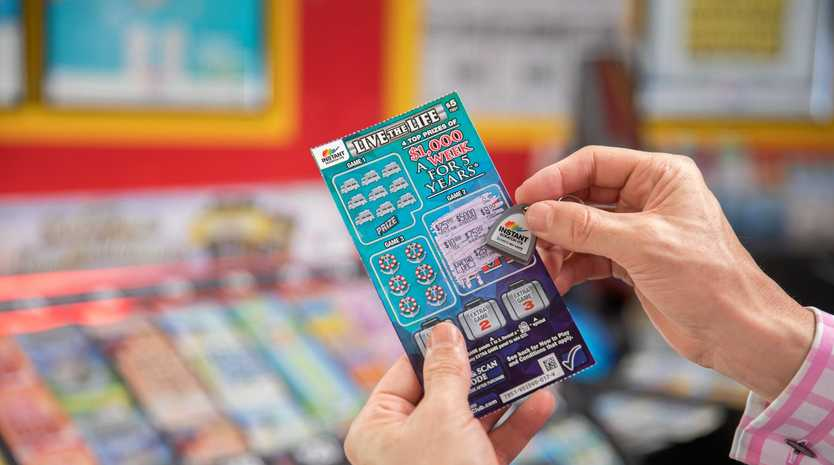 A Sunshine Coast couple has won $260,000 over five years after scratching a winning ticket.