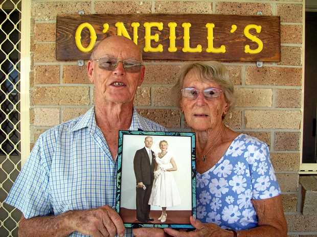 Kevin and Shirley O'Neill will be celebrating their 60th wedding anniversary.
