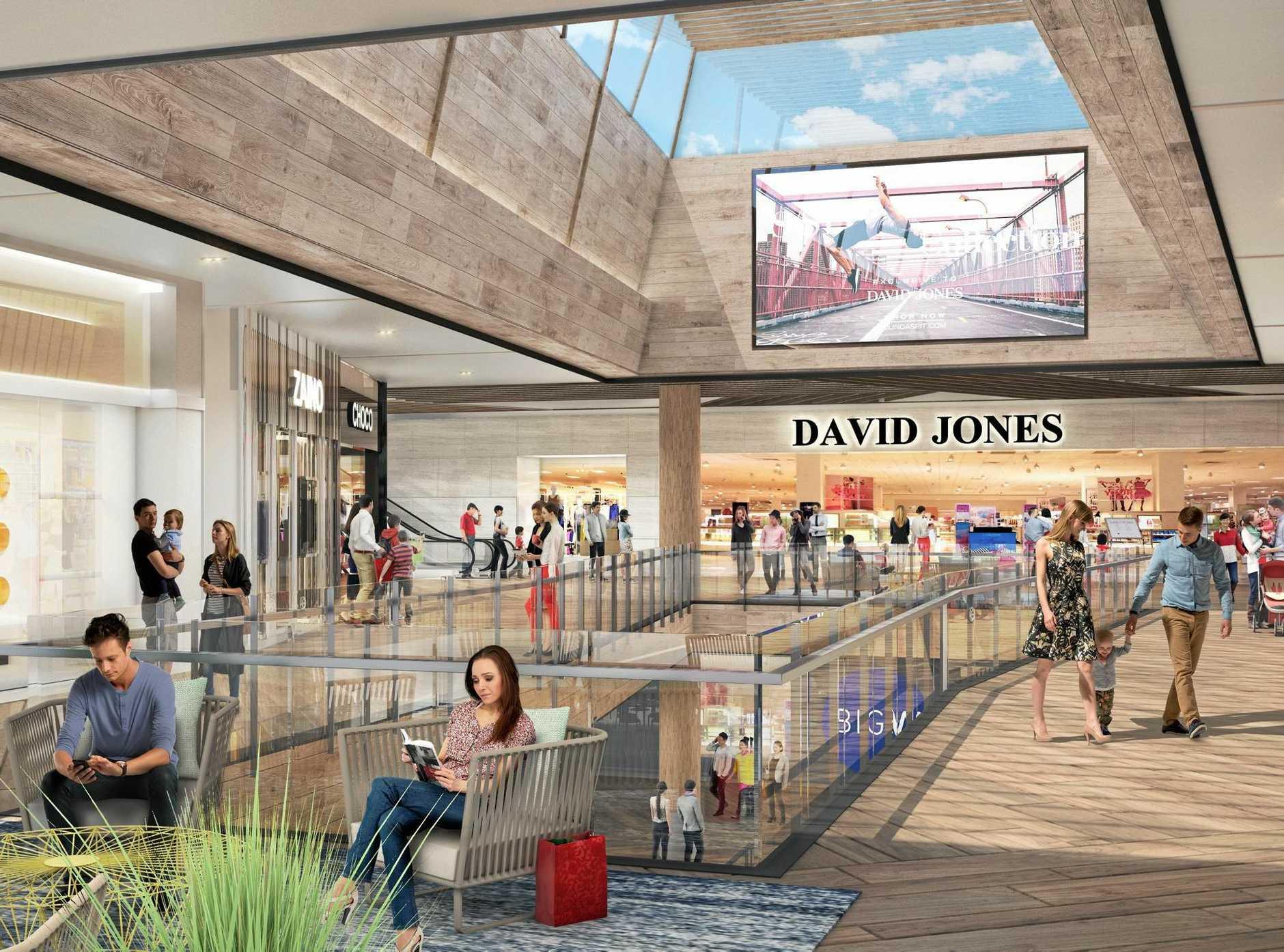 RETAIL HEAVEN: An artist's impression of the Sunshine Plaza redevelopment.