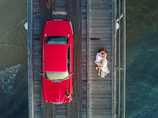 BEST OF 2017: Some of the stunning drone shots taken by Mikala and Jesse.