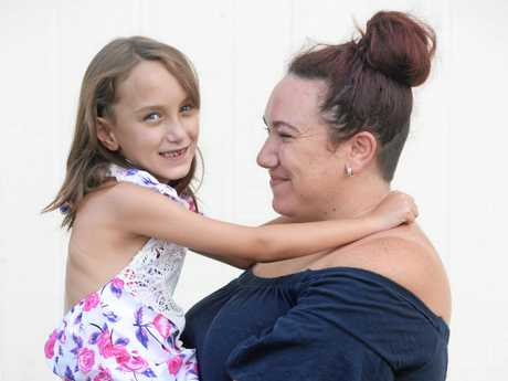 Sophie Stephenson is an eight year old girl who suffers from heart and lung problems with her mum Mel Nelson.