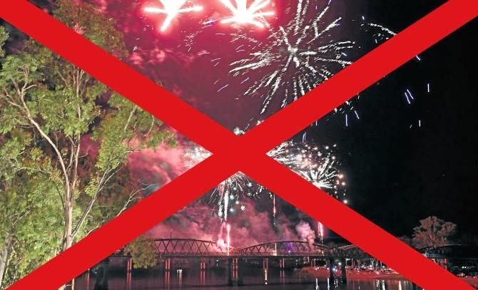 FORGET FIREWORKS: Can't we do something different, asks Jay Fielding.