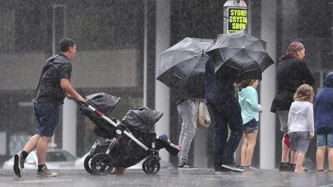 Rain will come to parts of eastern Australia with the La Nina event. Picture: John Grainger