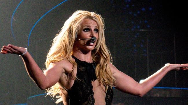 BAfter four years, Britney Spears said goodbye to Las Vegas. Picture: Splash News