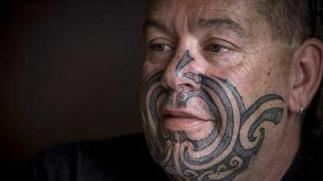 Novi Marikena at Hoani Waititi Marae. Marikena has been supporting Oriwa Kemp. Picture: Michael Craig