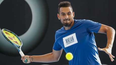 Nick Kyrgios says he is the fittest he has ever been.