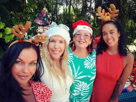 Schapelle Corby with her family at Christmas. Picture: Instagram/Schapelle Corby