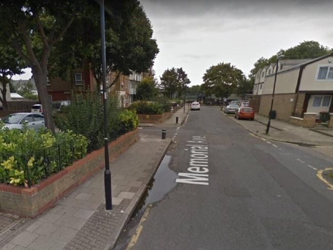 The first murder took place in West Ham, London, in the early evening of New Year's Eve. Picture: Google Earth