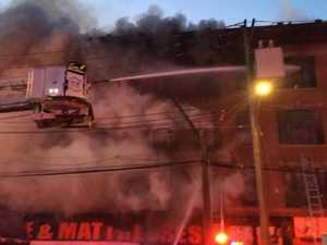 Another blaze hits New York flats