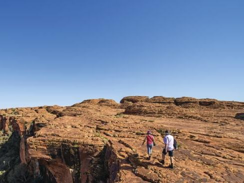 Rim Walk at Kings Canyon in the Northern Territory.