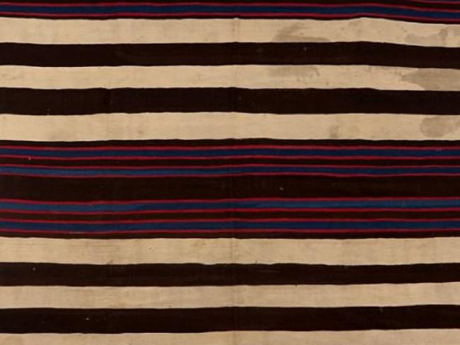 The blanket was made by Navajo Native Americans. Picture: Facebook