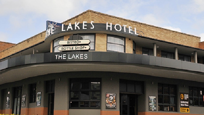 Haydn Butcher was attacked outside the Lakes Hotel at The Entrance