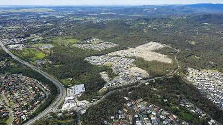 A house-and-land development in Logan, Queensland.