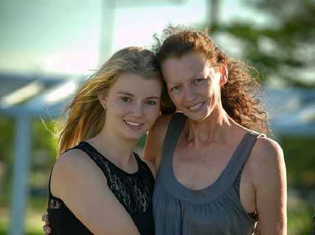 Makayla and Karin Tritton died in a car crash on Manly Road on Christmas Day. Picture: Living & Loving photography