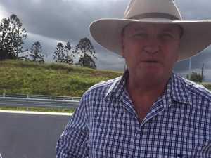 Bruce Hwy Barnaby Joyce Llew O'Brien