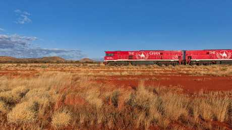 The Ghan train journey will feature in a new TV series on SBS this Sunday.