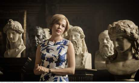 Michelle Williams in a scene from All The Money in The World.