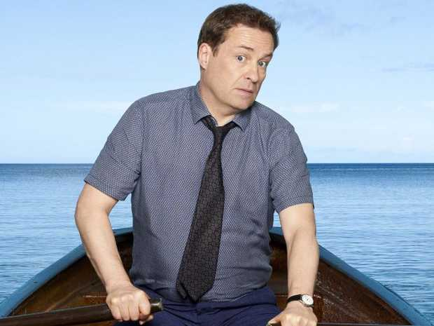 Ardal O'Hanlon stars as DI Jack Mooney in season seven of the TV series Death in Paradise.