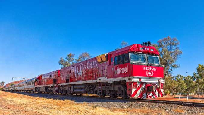 CHANGE OF PACE: SBS will air three hours of The Ghan train journey on Sunday.