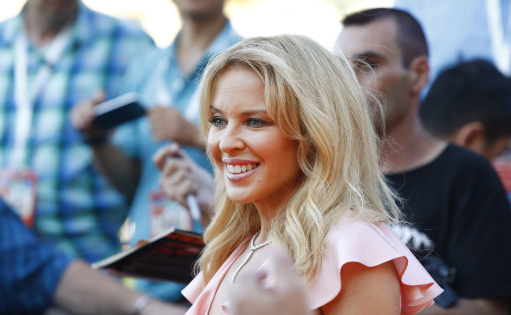Kylie Minogue is ready to surprise fans with a new musical direction.