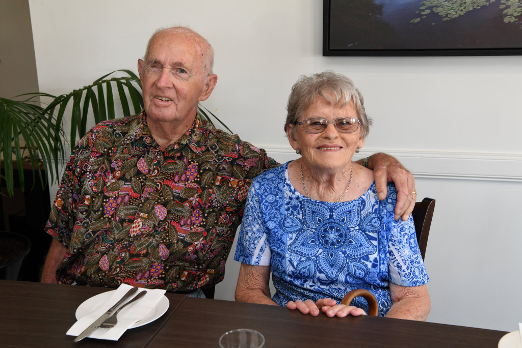 Image for sale: HOLIDAY SOCIALS: George and Marie Kunst at the Canecutter's Kitchen in Bourbong Street.