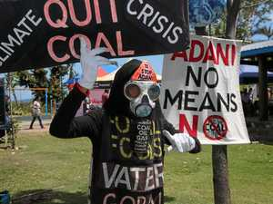 "Violence at Adani protests a ""matter of time"""