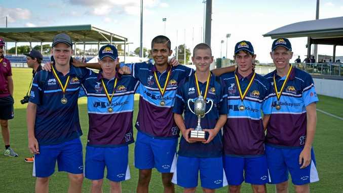 REIGNING CHAMPS:   (L-R) Jake Richter, Harry Engel, Rukshan Mahendraraj, Rylan Martin, Reece Willmett, Ezekiel Kugel helped bring the Darling Downs South West Queensland team to victory  last month.