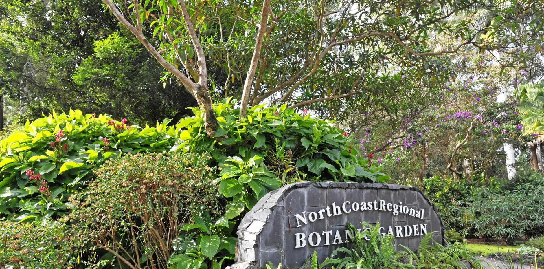 PERFECT SETTING: North Coast Region Botanic Garden will host the Gypsy Art Group exhibition from Sunday.