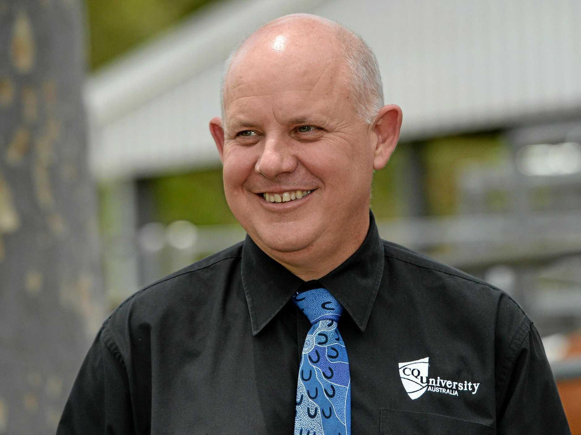 CQUniversity Vice Chancellor Scott Bowman.