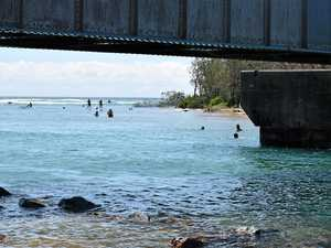 Large tides heighten risk of swimming in creeks