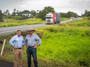 'One mistake and you're dead': Barnaby at Bruce Hwy