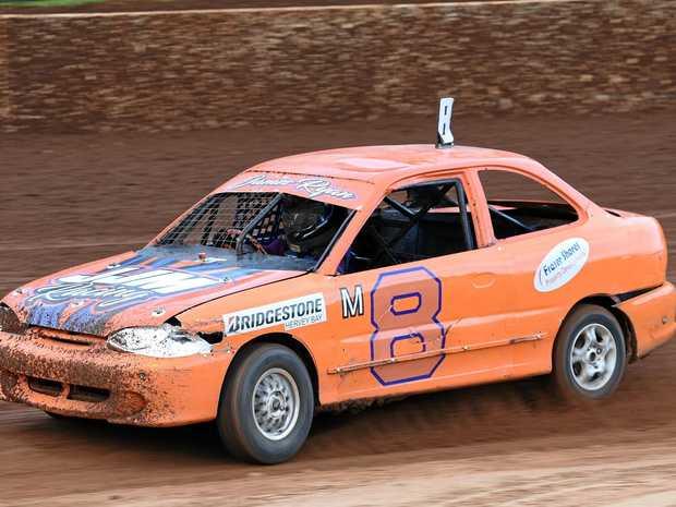 QUALITY: James Ryan was the best-placed Maryborough Speedway member in the first-ever Junior Sedans Speedweek.