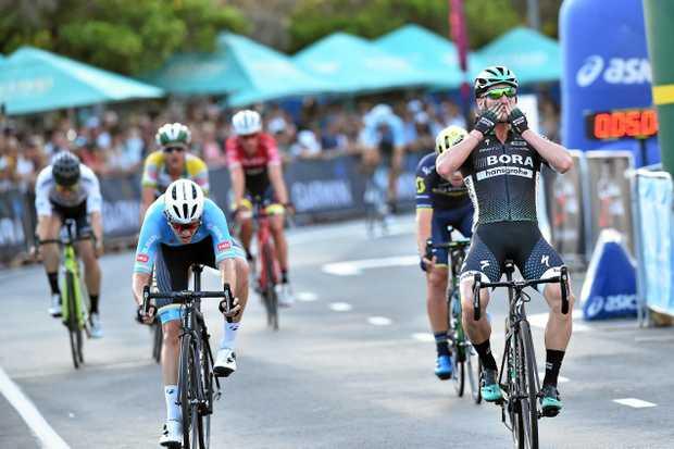 Noosa Triathlon Multi Sport Festival. Australia Open Criterium. Men's race. Winner Jay McCarthy.