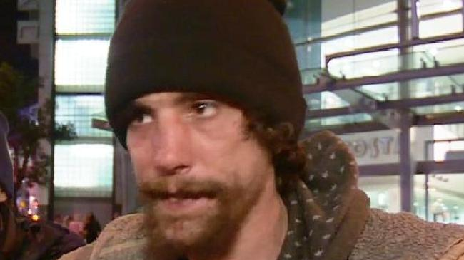 Chris Parker, a homeless man who was said to be helping victims during Manchester terror attack, has admitted that he stole from them. Picture: BBC