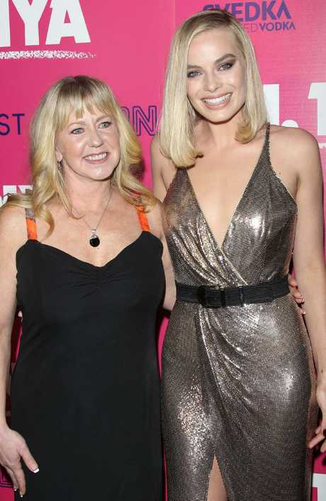Tonya Harding and Margot Robbie at the premiere of I, Tonya. Harding has made explosive new claims in an upcoming TV documentary. Picture: Splash