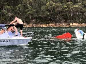 Moment mates risked their lives