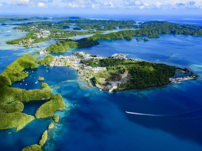 View of Palau Malakal Island and Koror. Picture: iStock