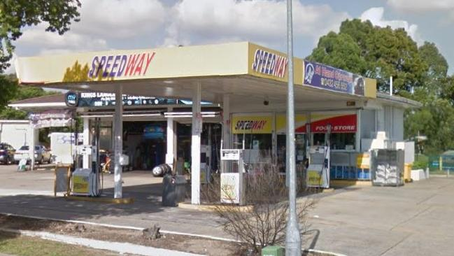 Three armed men entered the Speedway petrol station just after 9pm on Tuesday.