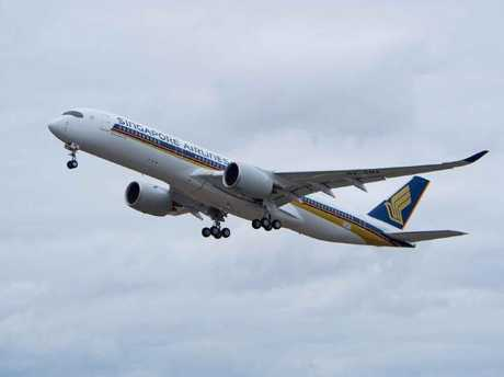 Singapore Airlines launched its A350 aircraft in 2016.