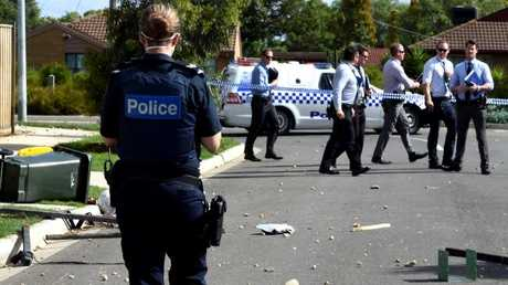 Victoria Police is still investigating a spate of violent incidents across the state last month. Picture: Nicole Garmston/News Corp Australia.