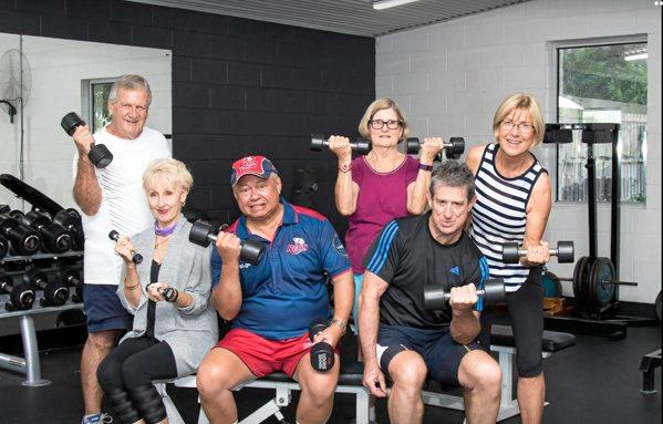 Research indicates that strength training with free weights is beneficial for all aspects of healthy ageing, join in at YMCA Caloundra.